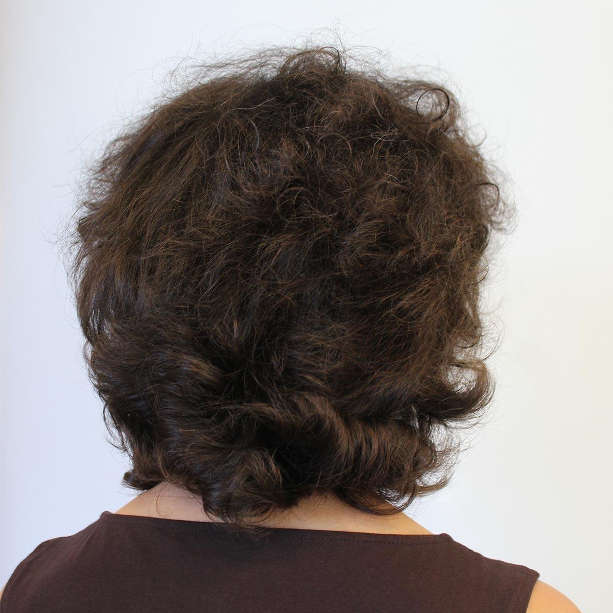Haarverlängerung Kundin 1 vorher