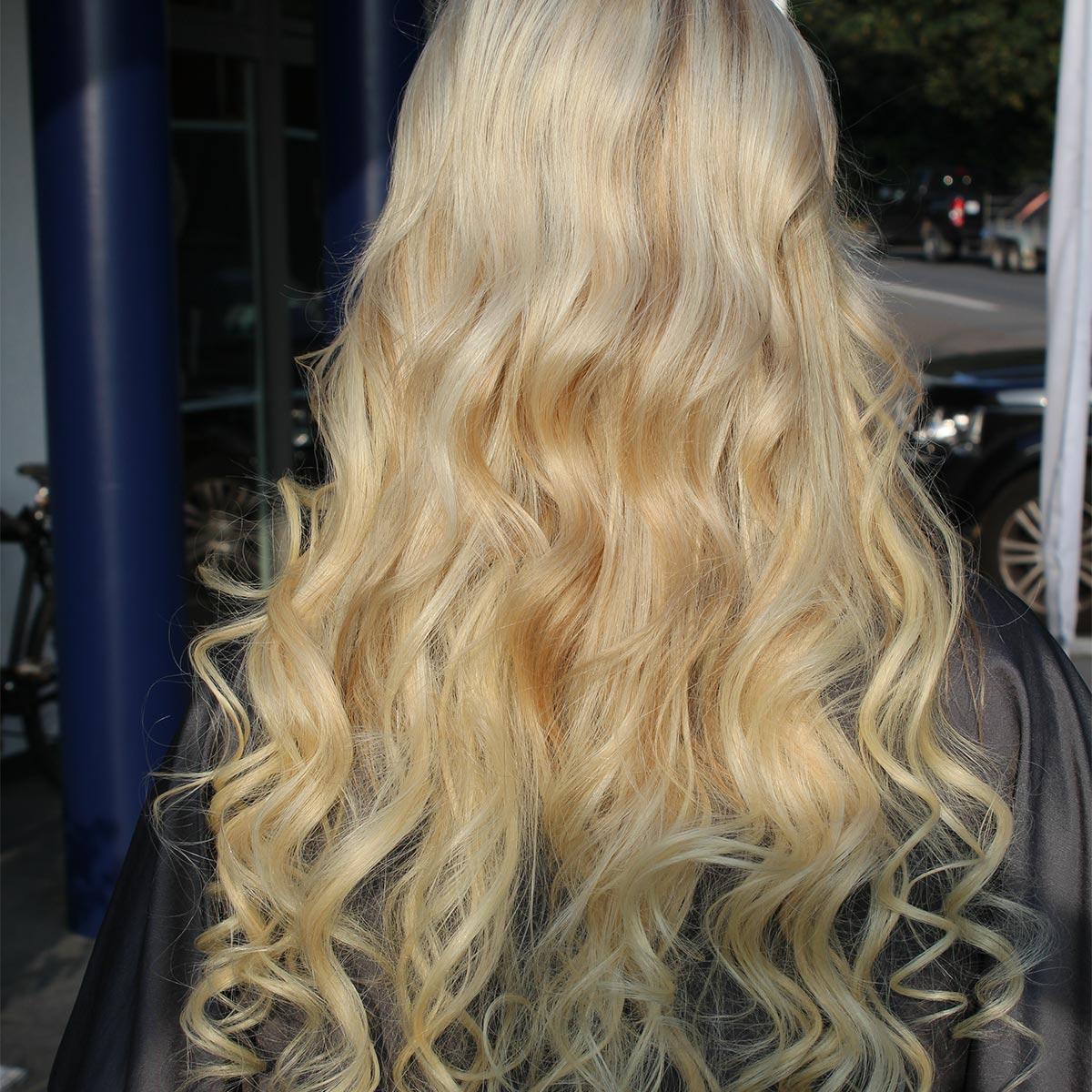 Haarverlängerung Melanie 1 nachher