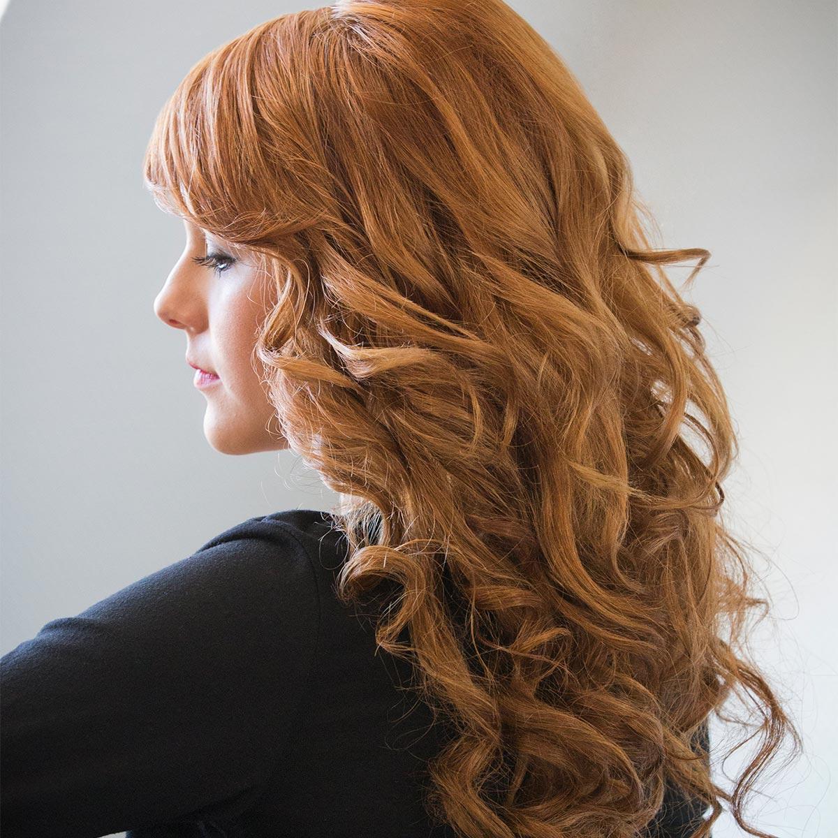 Haarverlängerung Steffie 1 nachher